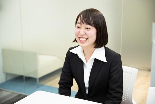 大松の第一印象は、<br>「楽しくて自由な会社!」。